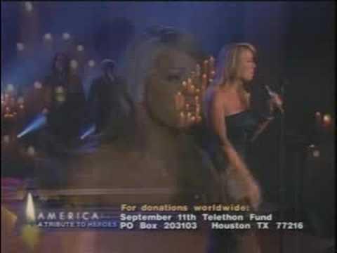 HERO - MARIAH CAREY ( LIVE - LOS ANGELES )