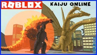 KAIJU ONLINE UPDATED! Roblox Godzilla Video Game Works! - Family YG Gaming