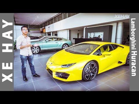 Khám phá chi tiết Lamborghini Huracan chính hãng |XEHAY.VN|