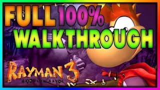 Rayman 3: Hoodlum Havoc | FULL 100% Score Walkthrough [1080p60]