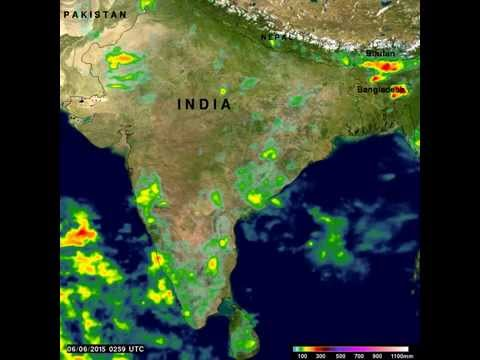 GPM Sees Slow Start of India's 2015 Monsoon Season