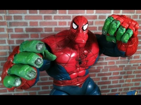 Spider Man Classics Spider Hulk Review - YouTube