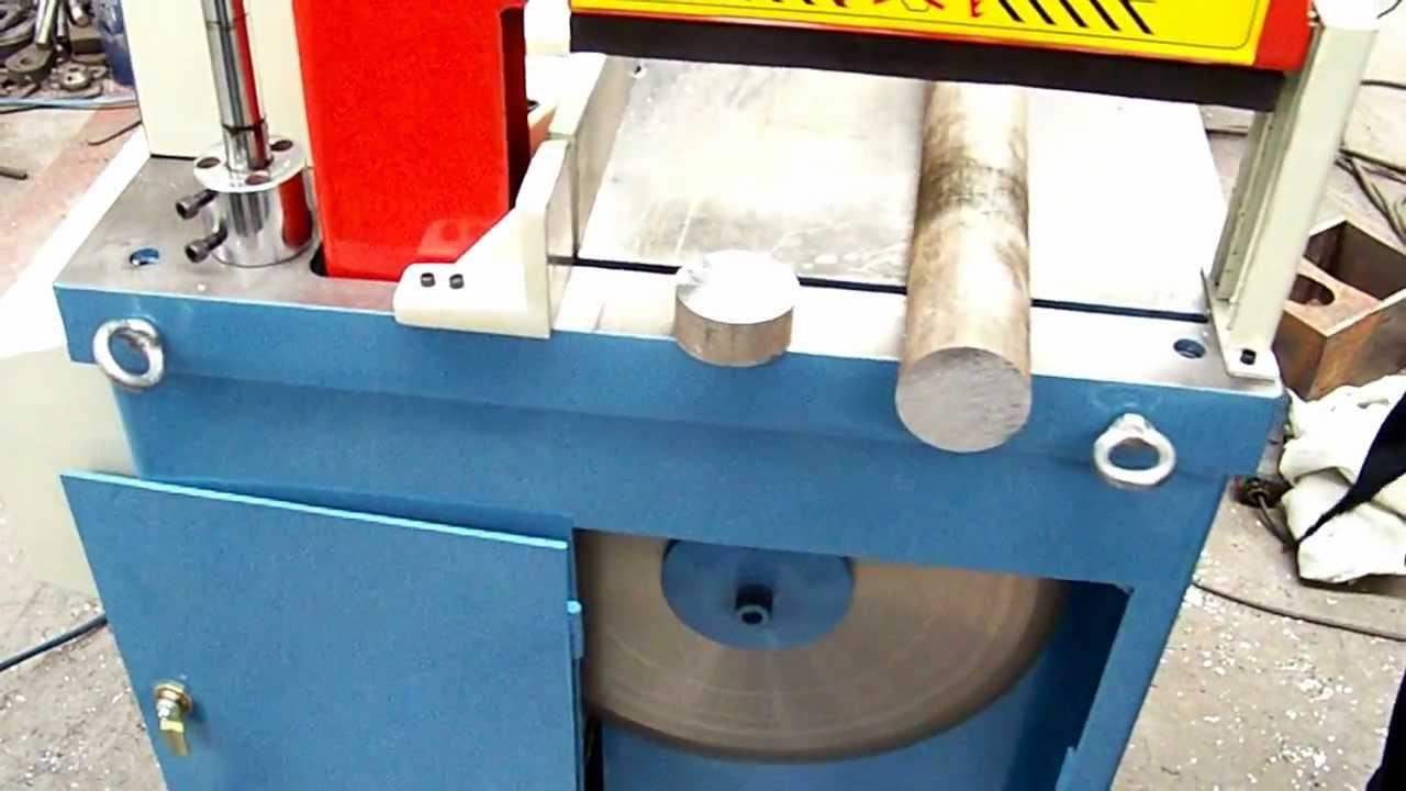 Aluminum Pipe and Bar Cutting Circular Sawing Machine.MOV ...