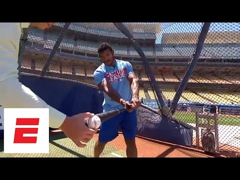 Alex Rodriguez and Yasiel Puig talk about hitting and ARod's strikeout record  ESPN