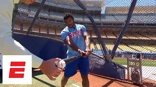 Alex Rodriguez and Yasiel Puig talk about hitting and A-Rod's strikeout record | ESPN