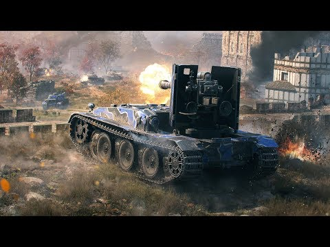 Танкосмотр2019 #11. Германия. ПТ-САУ (ветка Grille 15)   World Of Tanks