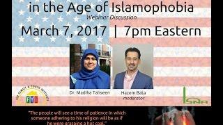 Webinar: American Muslim Identity in the Age of Islamophobia