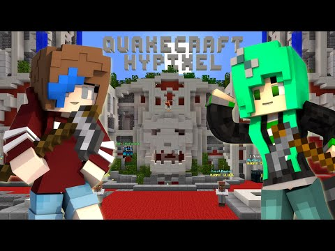 MINECRAFT LET'S PLAY QUAKE CRAFT | RADIOJH GAMES & SALLYGREENGAMER