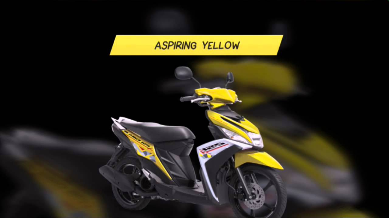 New Striping Mio M3 2016 Youtube