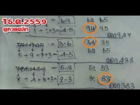 เลขเด็ด สามตัว สองตัวบน เลขเด็ดอภิโชคโหราศาสตร์ งวดที่ 1 ธ.ค 59
