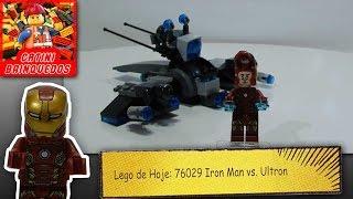 Lego 76029 Homem de Ferro Vs Ultron Super Heroes Marvel (Vamos Montar)