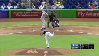 EVERY HIT FROM CODY BELLINGER CYCLE VS MARLINS