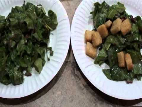 Home grown organic garden salad - From garden bed to table for a healthy lifestyle