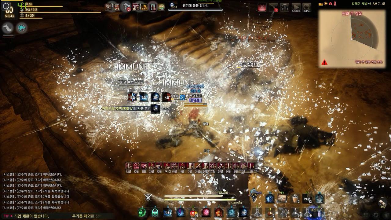 Black Desert 60 Wizard PVE Pillaku