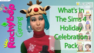 What's in The Sims 4 Holiday Celebration Pack?! | Rachybop