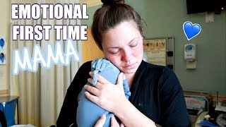 NEWBORNS FIRST 24 HOURS OF LIFE + BRINGING BABY HOME!!