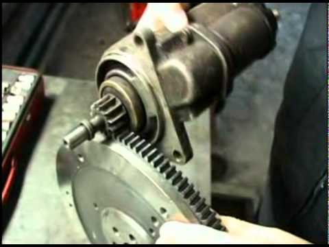 165 замена втулки стартера на жигулях самаре 2 - YouTube
