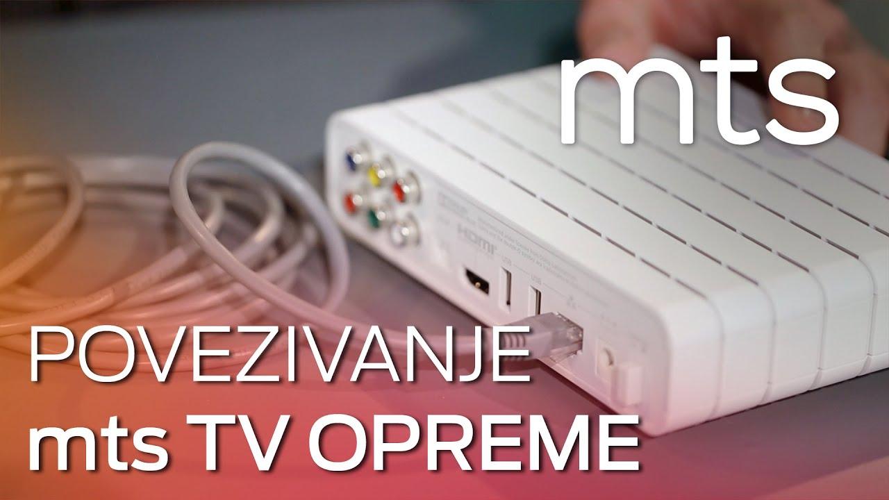Uputstvo za povezivanje i instalaciju mts TV opreme