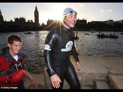 David Walliams Vs The Thames | Sport Relief Challenges 2012