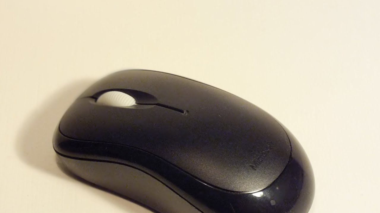 Microsoft Wireless Mouse 1000 Review