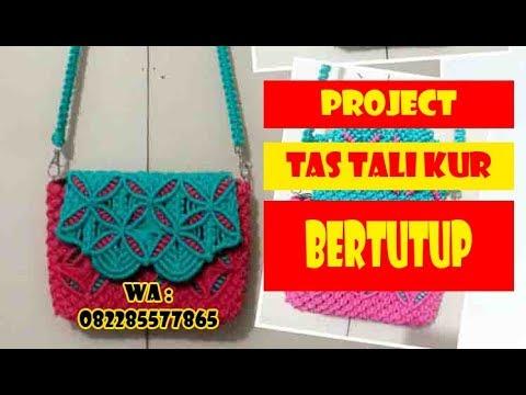 Project Membuat Tas Tali Kur bertutup by zeptaifyx {spoiler}