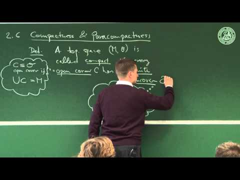 Topological spaces - some heavily used invariants - Lec 05 - Frederic Schuller
