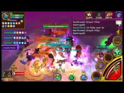 Arcane Legends - Raid 12 Player
