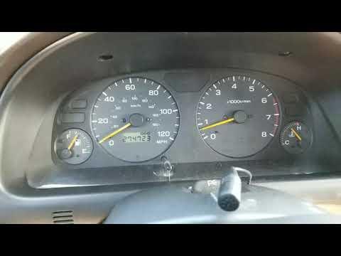 Subaru Forester LED Gauge Light Update