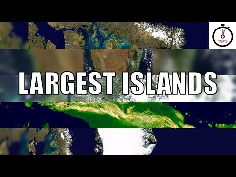 Top 5 largest islands