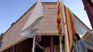 Commemoració de la Diada Nacional de Catalunya a Roquetes, 11 setembre 2017.