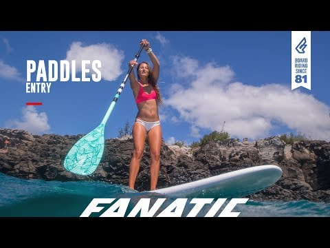 Fanatic Paddles 2018/19 - Entry Range