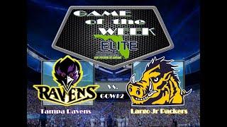 2017 Florida Elite Game of the Week 2 Tampa Ravens vs Largo Packers