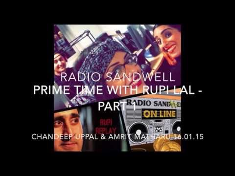 Amaretto's World & The Space - Radio Sandwell: 'Prime Time with Rupi Lal - 16.01.15 - Part I