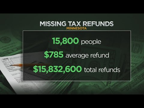 IRS Sitting On $16 Million In Unclaimed Minnesota Tax Refunds