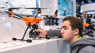 The Disappointing Future of Drone Technology at CES 2019