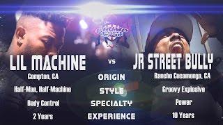 Lil Machine vs J Street Bully @ The Gully Blokk