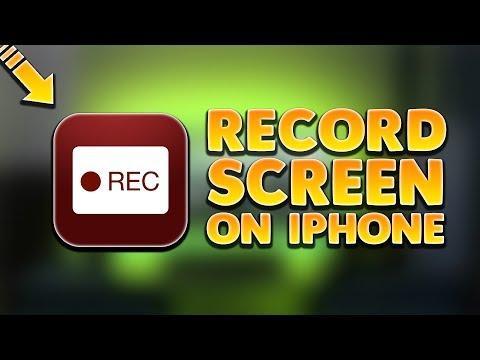 Record screen on iPhone? *No jailbreak/computer*