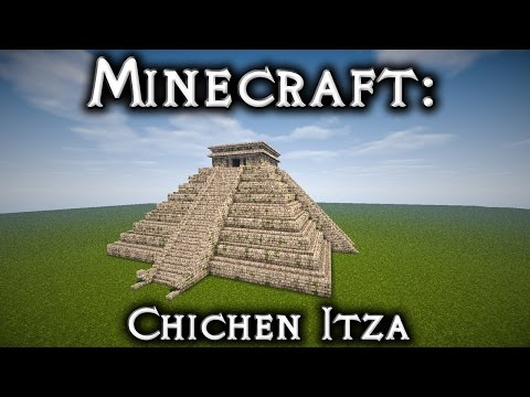 Minecraft: Chichen Itza - El Castillo Tutorial