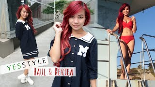 YesStyle Haul & Review l 4 Cute Outfits for Summer Dates l  Asian Fashion Summer Clothing Haul