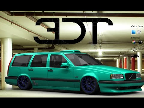 3d tuning ep 1 making a volvo 850r estate with wouter. Black Bedroom Furniture Sets. Home Design Ideas