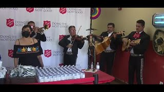 Mexican Independence Day Celebration At Salvation Army Includes Community Meal, Music