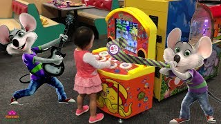 CHUCK E. CHEESE Family Fun Indoor Activities For Kids Children Play Area and Arcade Games