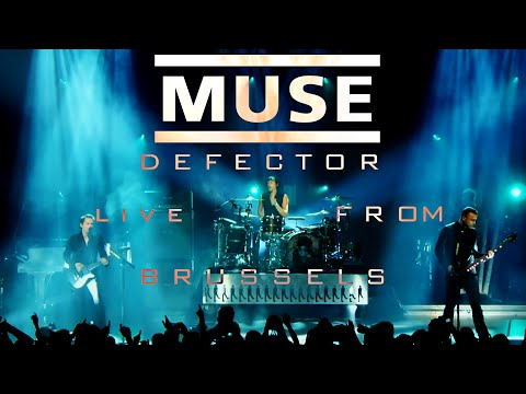 Muse - Defector (Live debut at AB Brussel, 16.09.15) Multi-Cam