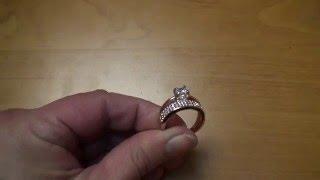 Обзор позолоченного кольца оригинального дизайна из Китая