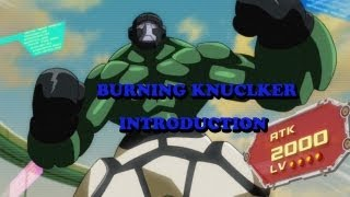 Yu-Gi-Oh! Introduction to the Burning Knucklers! Part 1: The Deck!