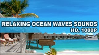 Relaxing Ocean waves sounds and soft Piano Music for sleeping, meditation and yoga.