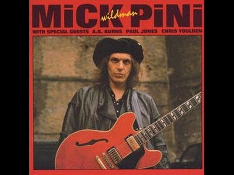 "Mick ""Wildman"" Pini - Mick ""Wildman"" Pini ( Full Album ) 1989"