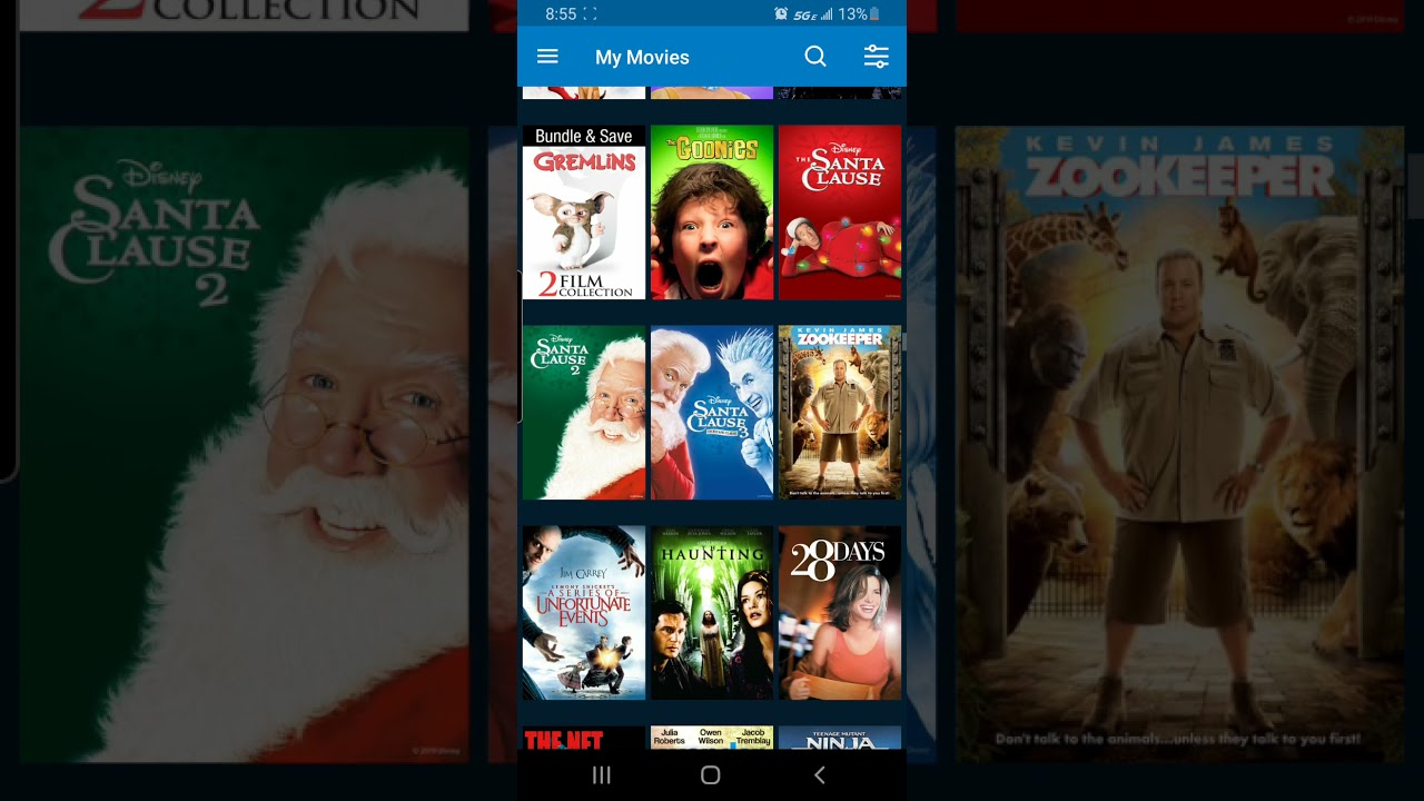 Download my VUDU collection from 2020