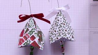 German Bell Paper Ornament