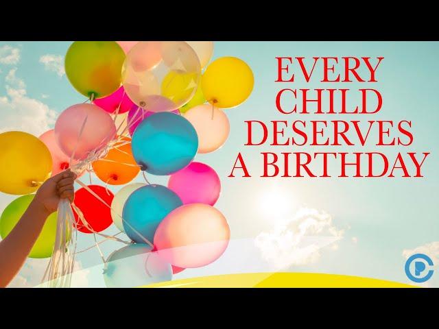 PCCOG Online 4.18.21 // Every Child Deserves A Birthday